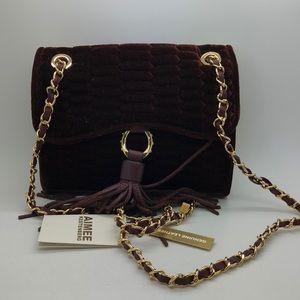 Aimee Kestenberg Mahogany Medina Shoulder Bag